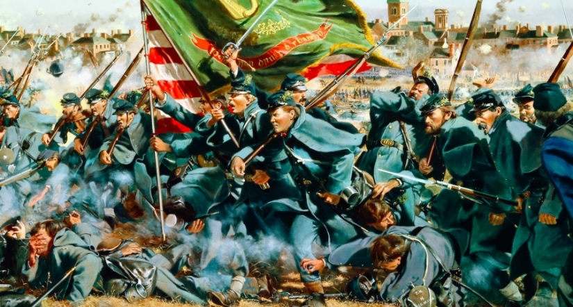 Irish Brig at Fredericksburg