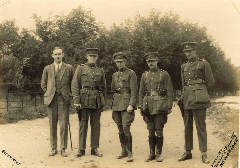 Collins and officers