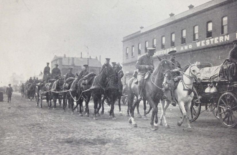 BA Curragh 1914