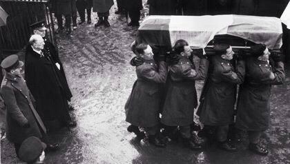Casement's funeral