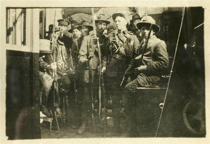 Inside GPO 1916