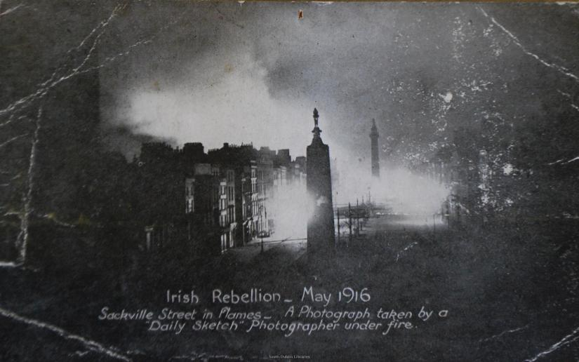 O'Connell street Fire