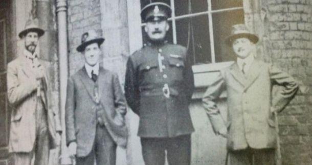RIC James O'Brien 1916