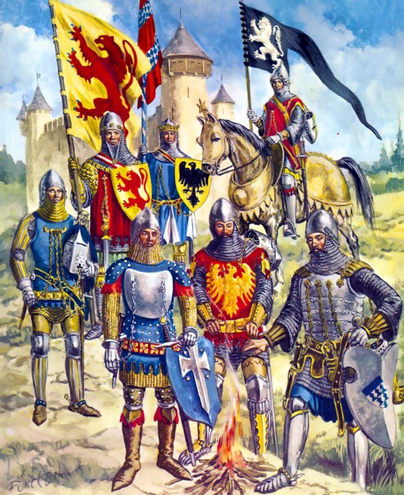 14th Century Knights
