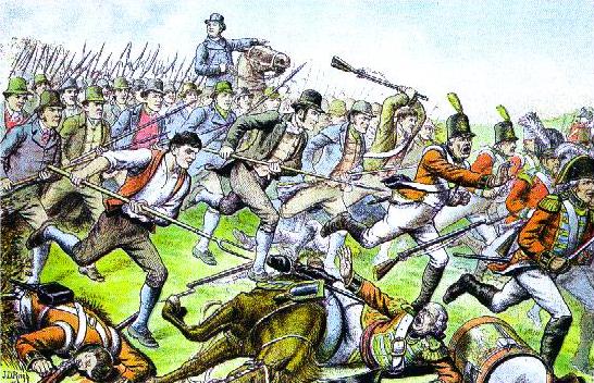 Battle of Saintfield 1798